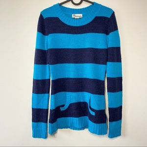 Blue Crush Long Sleeve Sweater